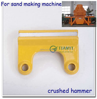 hot saling customized crushed hammer with excellent work carbide bars