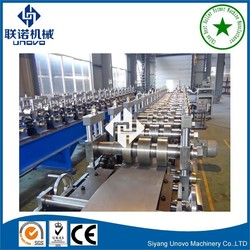 Quick interchangeable C Z purlin cold sheet steel metal upright/column roll forming machine equipment