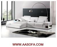 leder sofa,led sofa,living room sofa