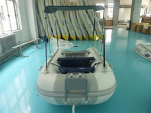 Summer Inflatable Boat ASD-320 light Grey and dark grey with canopy for sale!!!