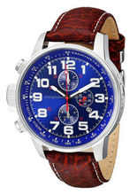 hot sell cool men watch with 3 eyes real working small hand left crown right hand watch