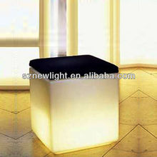Night club bar stool!! led bar high chair /illuminated bar furniture