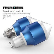 5830 led Bluetooth global lamp led 806lum with Free APP