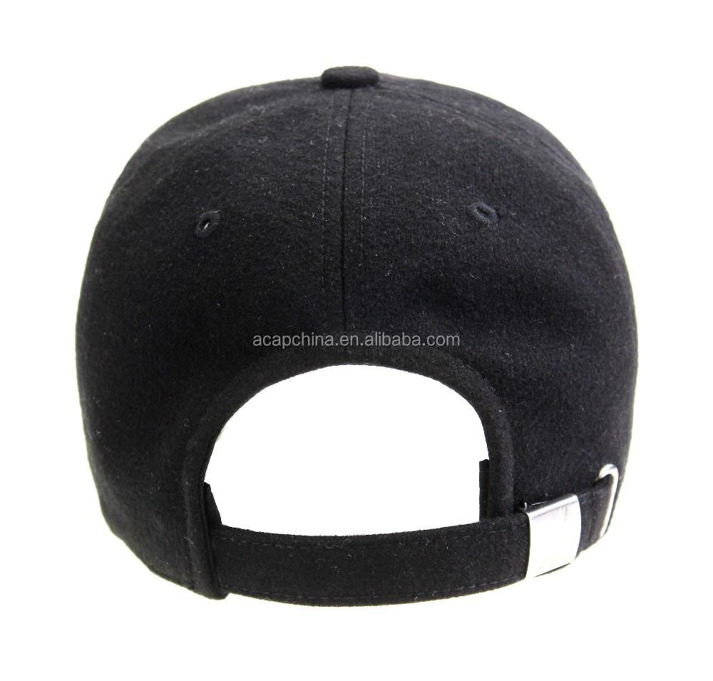 blank 6-panel baseball cap