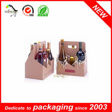 6 bottle wine cardboard bottle carrier