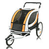 2015 Cheap three wheel baby bike trailer twin baby bike trailer