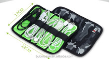 BUBM camouflage Nylon Fabric Portable Electronic Accessories Travel Organizer/Cable Organizer Bag