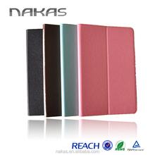 new fashion simple design high quality leather case for ipad mini