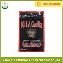 killa gorilla herbal incense bag