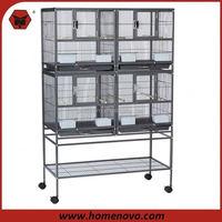 aluminium bird cage