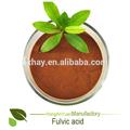 Prix du fabricant de foin humique fulviques acide/nommé d'engrais./grade agriculture
