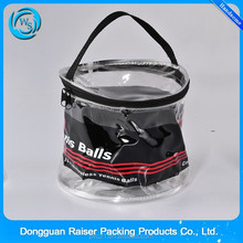 custom made toiletry bags PVC Cosmetic Bag Plastic Bag With Handle For Girls