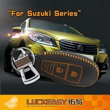 Fashion Key Cover for suzuki series 2014 Genuine Leather Car