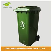 Wholesale 240L outdoor recycling bins plastic waste wheelie bin
