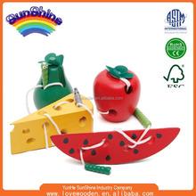 2015 children intelligence String string fruit factory OEM educational ESMY0030