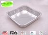 Rock bottom price square aluminum foil container for food packing F4515