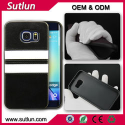 Factory price mobile phone leather case for Samsung galaxy s4 s5 s6 s6 edge cover