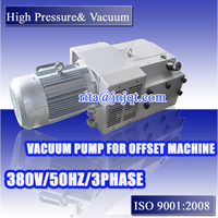 160m3/h 3phase oil free industrial Rotary vane vacuum pump for offset machine