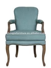 sala de mobiliário antigo estilo francês em madeira de carvalho braço de madeira cadeira de jantar