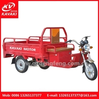 Open Body Type and 48V Voltage New Model 3 Wheel Electric Trike For Adults/Cargo And Passenger Use Rickshaw