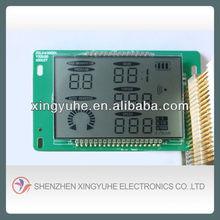 segment lcd for digital energy meter lcd display
