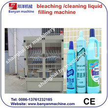 YB-12 12 heads anti corrosion/bleaching water/cleaning liquid automatic filling machine