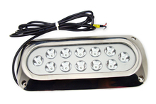 Underwater LED color options, White, Blue, Red, Green, Yellow