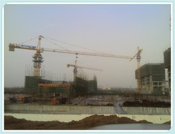 Chinese QTZ125A(5518) Brand 8t Tower Cranes, luffing/mobile/traveling/inner climbing tower crane