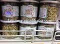 pet transparente puede latas vacías para 99mm de alimentos para mascotas ronda puede