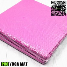 colorful 6mm thickness fitness yoga mat fold