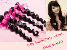 aaaaa quality cheap raw 100 brazilian loose wave human virgin , brazilian hair extension