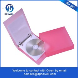 factory price clear plastic kids dvd case