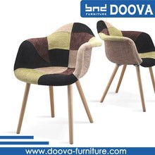 nuevo estilo de diseño moderno forro de tela silla