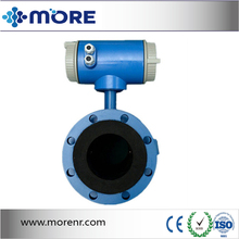stainless steel OCr18Ni12Mo2Ti electromagnetic ultrasonic flowmeter for high quality