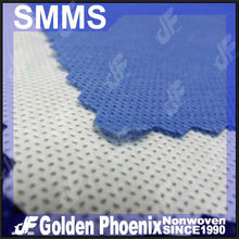 100% virgin polypropylene coverall PP non-woven fabric with anti-static property