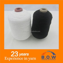 latex rubber cover yarn/thread 52# 63# 75# 80# 90# 100# raw white/black/red/blue good elasticity for the bride lace dresses