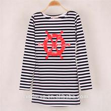 personalizada de fábrica al por mayor vestido de algodón para mujer coreano