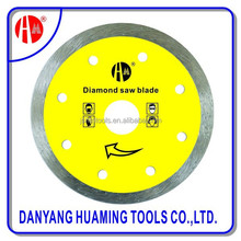 """4.5""""/114mm Diamond saw blade Dry Cutters Continuous circular Rim Small Saw Blade for stone"""