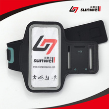 2015 Pay pal Payment Reflective Sport Armband for iPhone 6 4.7 inch, Lycra Neoprene Fabric Armband