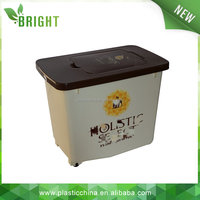 30L 15kg pet food container, storage box, heavy-duty plastic storage boxes with wheels