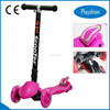 Safety Folding Best Quality Kick Scooter /Baby Walker Scooter with Flashing wheel