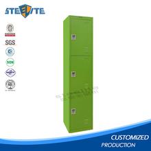 Cheap vertical steel foot locker custom metal storage lockers combination lock locker