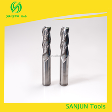 High Precision Solid Carbide 2/3 Flutes Aluminum Cutting Tools aluminum tungsten steel milling cutter