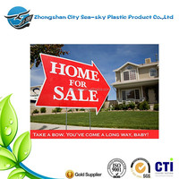A2 size 4mm coreflute signs/yard security signs