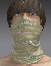 Custom made promotional tubular seamless headwear bandanas for hiking club team