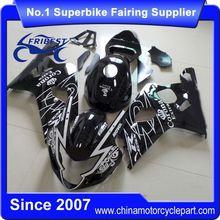 FFGSU002 Motorcycle ABS Fairing For GSX R750 GSXR750 GSX R600 GSXR600 2004 2005 Black Corona With Tank Cover