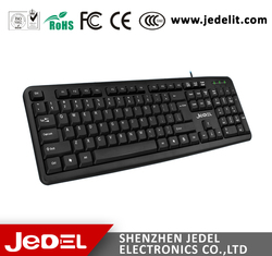 2015 Best price JEDEL computer keyboard manufacturer cheap