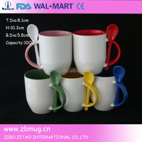 Gift item bulk coffee mugs with spoon