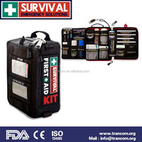 TR002 outdoor & travel first aid kit list professional first aid kit with pockets (CE&ISO&FDA&TGA)Approved