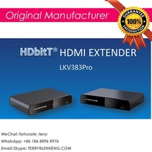 HDbitT HDMI Extender with IR over UTP with HDMI loop function, new HDbitT technology,compatible with internet